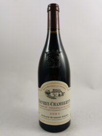 Gevrey-Chambertin - Estournelles St Jacques - Domaine Humbert 2001