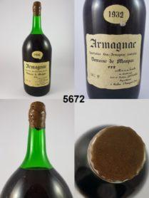 Armagnac - Domaine de Maupas 1932