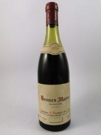 Bonnes-Mares - Domaine Georges Roumier 1970