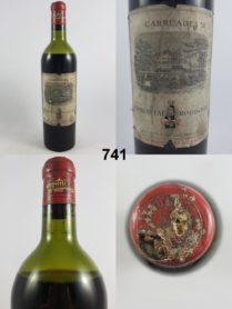 Carruades de Lafite Rothschild 1952