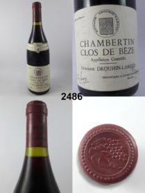 Chambertin Clos de Bèze - Domaine Drouhin-Laroze 1985