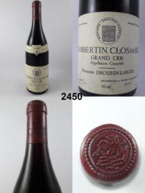 Chambertin Clos de Bèze - Domaine Drouhin-Laroze 1988