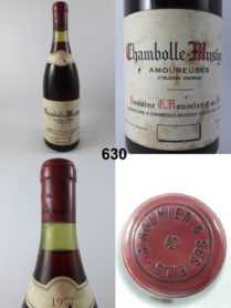 Chambolle-Musigny - Les Amoureuses - Domaine Georges Roumier 1977