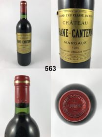 Château Brane-Cantenac 1983