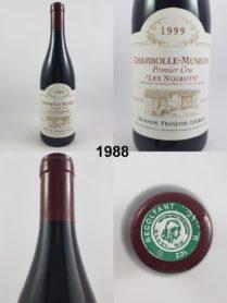 Chambolle-Musigny - Les Noirots - François Legros 1999