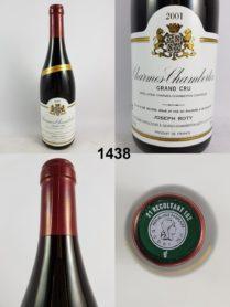 Charmes-Chambertin - Très vieilles vignes - Domaine Joseph Roty 2001