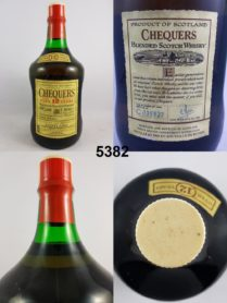 Chequers - Scotch Whisky - Over 12 years - 200 cl