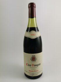 Clos de Vougeot - Domaine Camuzet 1982