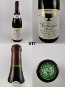 Clos de Vougeot - Gros Frère & Soeur 1993