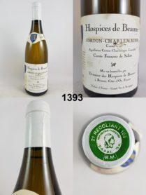 Corton-Charlemagne - Cuvée François de Salins - Hospices de Beaune 2013
