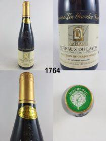 Coteaux du Layon - Domaine Les Grandes Vignes - Vaillant 1996 - 50 cl