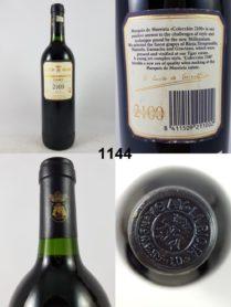 Marqués de Murrietta Colleccion 2100 1996