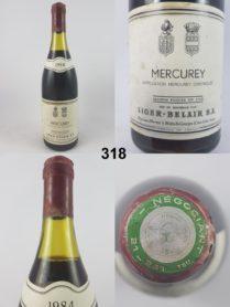 Mercurey - Domaine Liger-Belair 1984