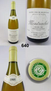 Montrachet - Marc Colin 1995