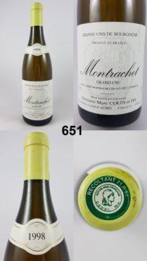 Montrachet - Marc Colin 1998