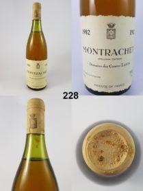 Montrachet - Domaine des Comtes Lafon 1982