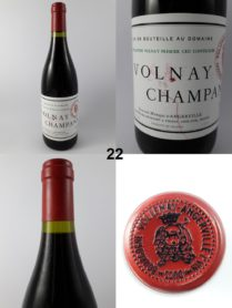 Volnay - Champans - Domaine Marquis d'Angerville 1992