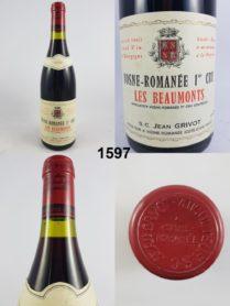 Vosne-Romanée - Les Beaux-Monts - Jean Grivot 1986